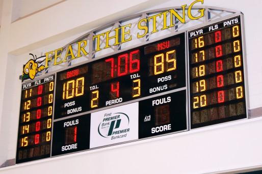 Scoreboards Basketball Configuration