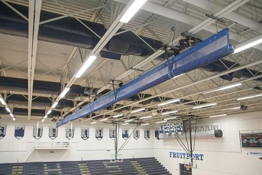 Gym Dividers Split the gym
