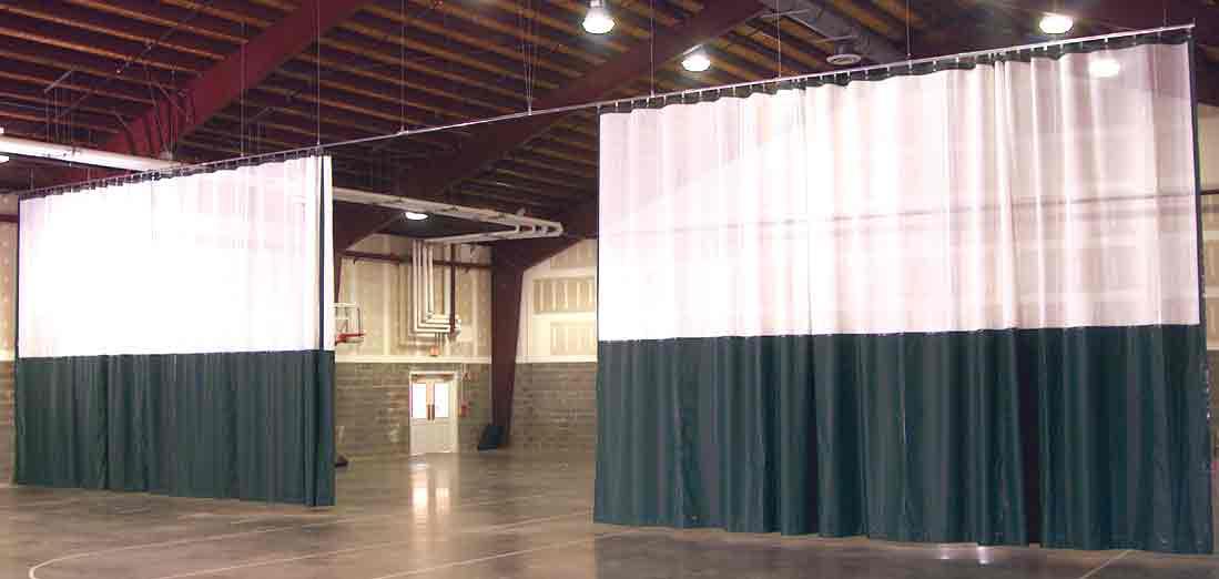Gym Dividers Sales Install Repair American Athletix