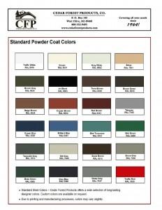 CFP Powder Coat Color Chart-1
