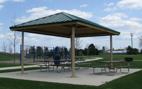 Hip Roof Pavilions - American Athletix American Athletix